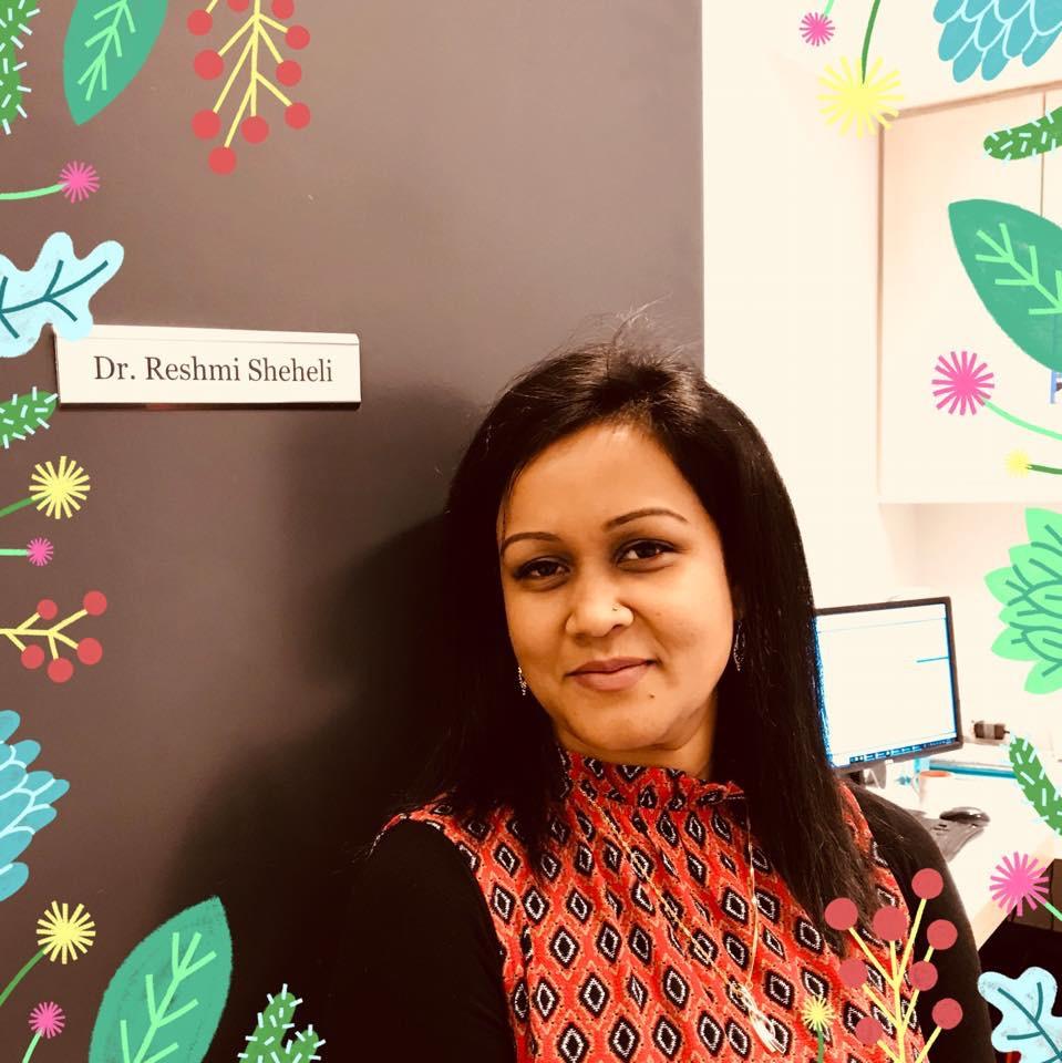 Dr Reshmi Sheheli Portrait